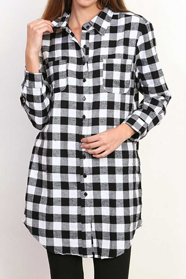 FLANNEL SHIRTS WITH SIDE POCKETS