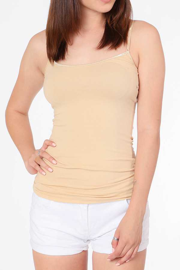 SOLID BASIC CAMI TOP