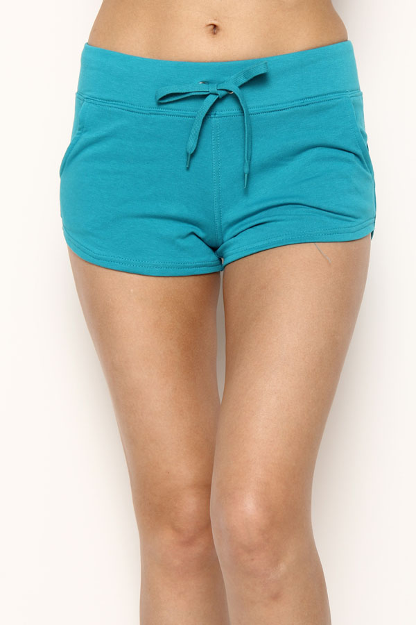 FRENCH TERRY SPORTY SHORTS