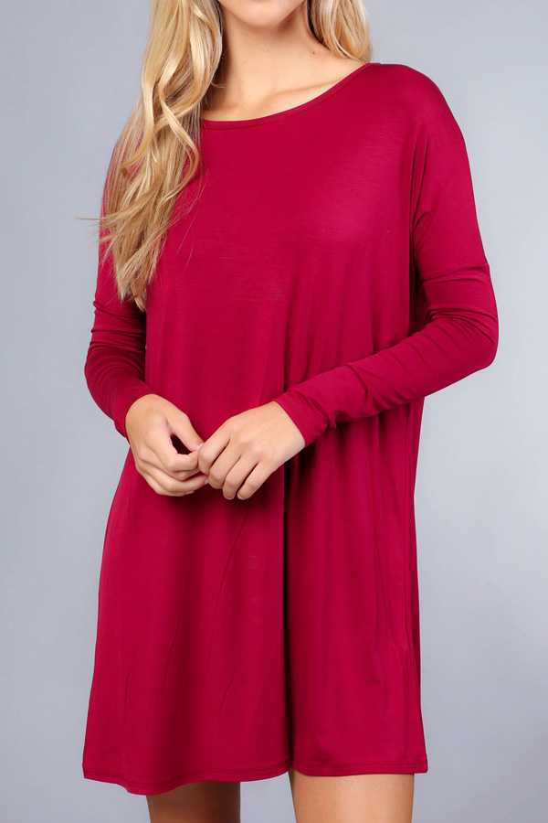 MUST HAVE SOLID TUNIC