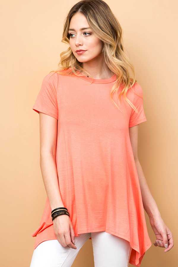 SOLID TUNIC TOP