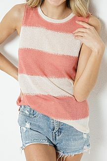 BOLD STRIPED TANK TOP