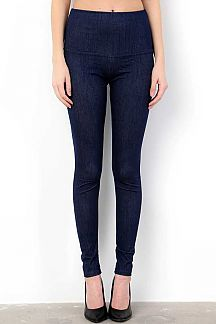 PREMIUM STRETCH HIGH-WAIST JEGGINGS