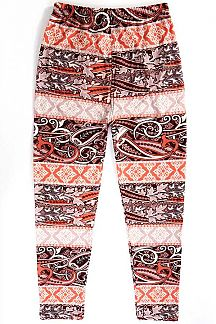 KIDS UNIQUE PRINT LEGGINGS