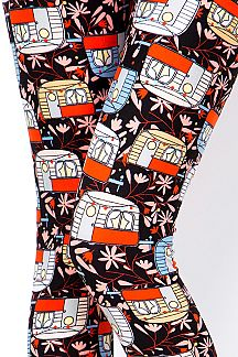 CAMPER PRINT LEGGINGS