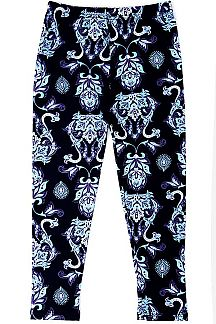 ABSTRACT PRINT KIDS LEGGINGS